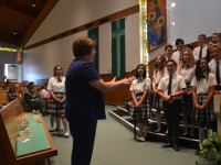 Farewell Mass For Our 8th Graders.