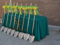 Golden shovels!